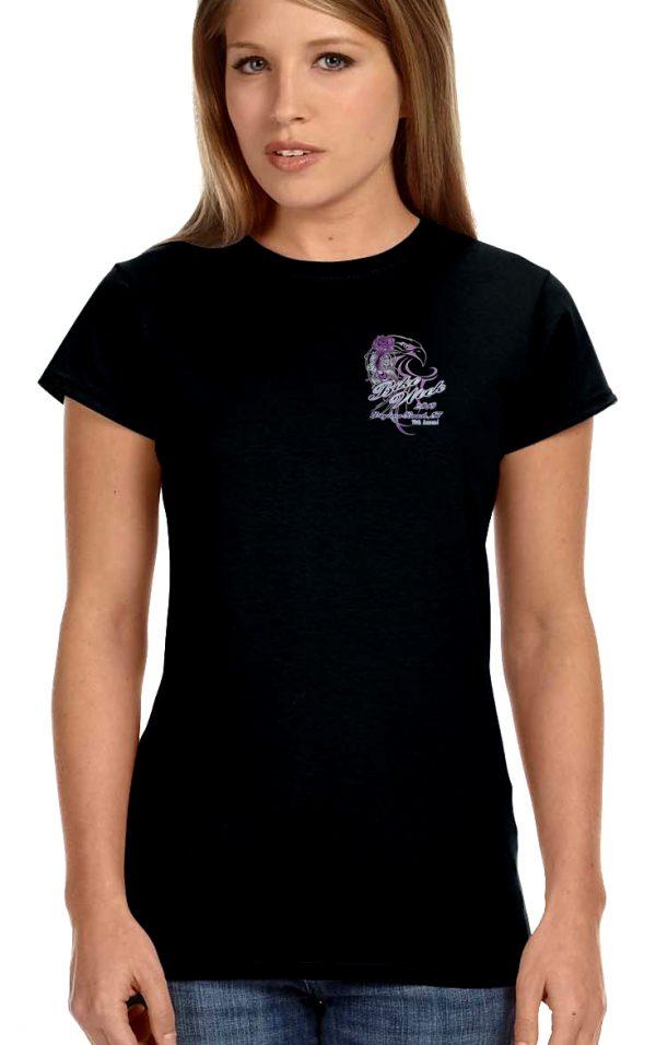 lady biker shirt