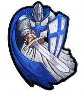 Blue Christian knight