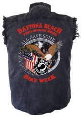 Daytona bike week 2020 POW-MIA biker shirt