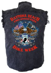 Daytona bike week Veteran biker shirt