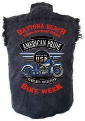 Bike week 2020 motorcycle shirt