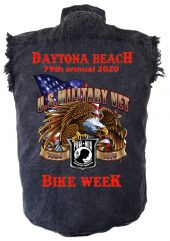 Military Vet bike week shirt