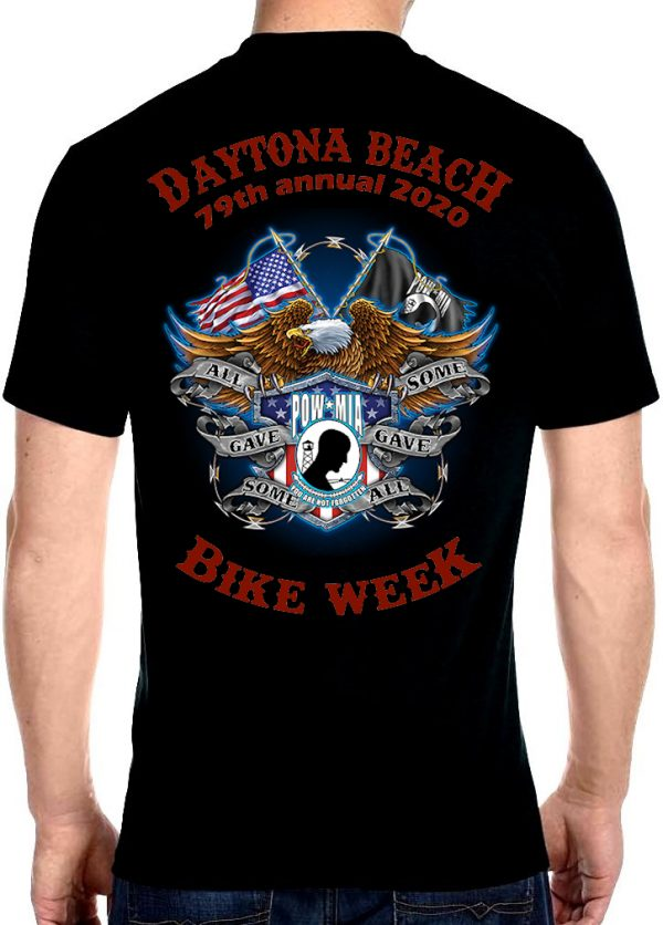 Veteran bike week 2020 tee shirt