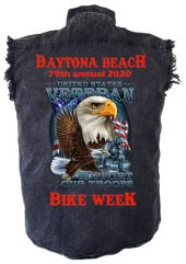 Eagle Vet bike week 2020 denim shirt