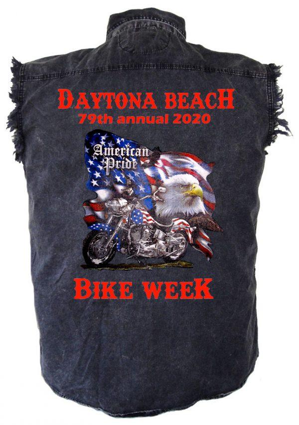 American motorcycle bike week 2020 shirt
