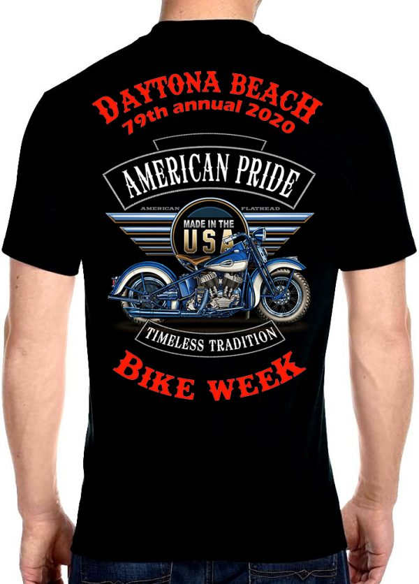 Daytona bike week motorcycle 2020 shirt