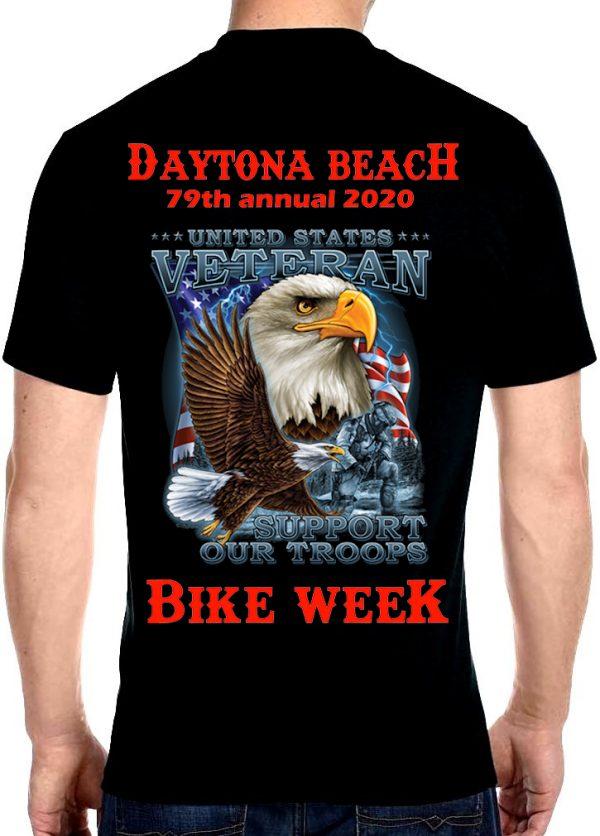 Eagle Veteran bike week 2020 shirt