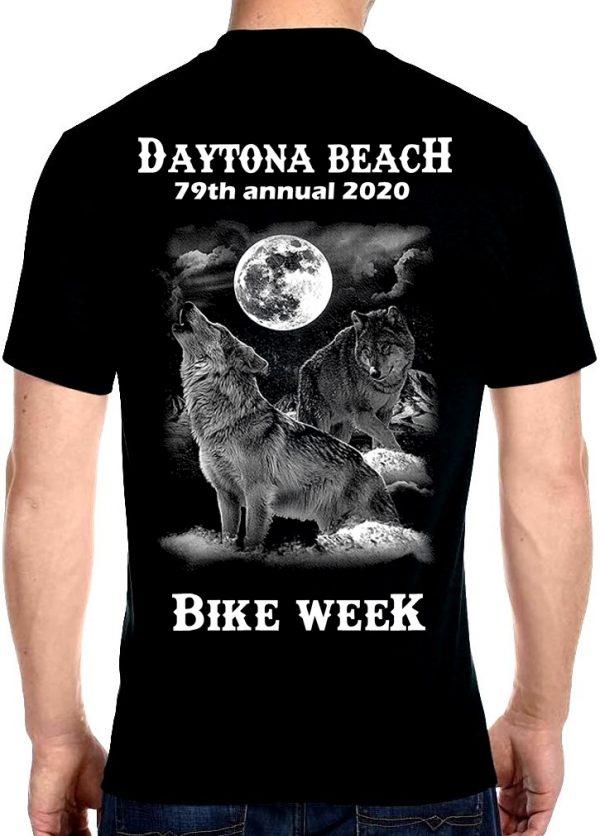 Howling wolf bike week 2020 shirt