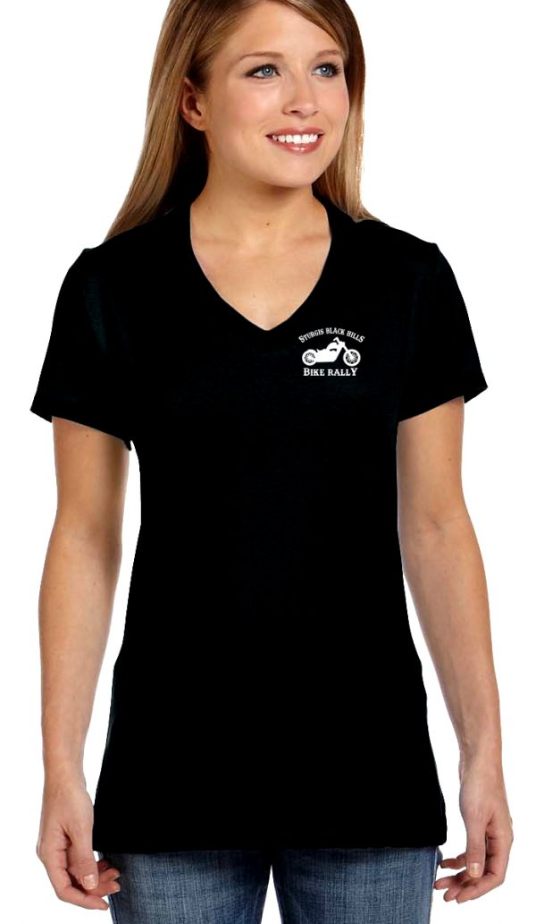 Women's bike rally shirt