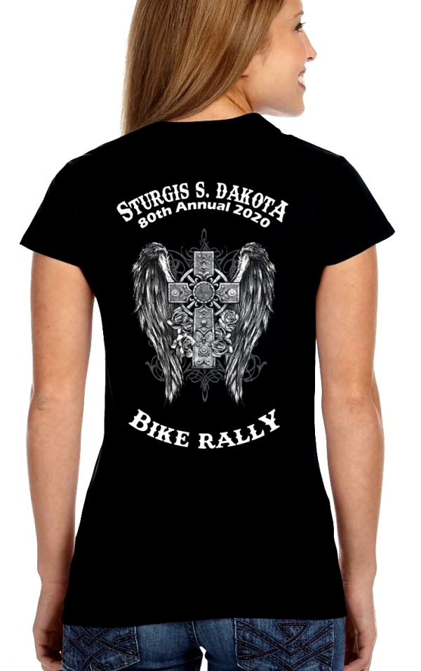 Sturgis bike rally 2020 women's tee shirt