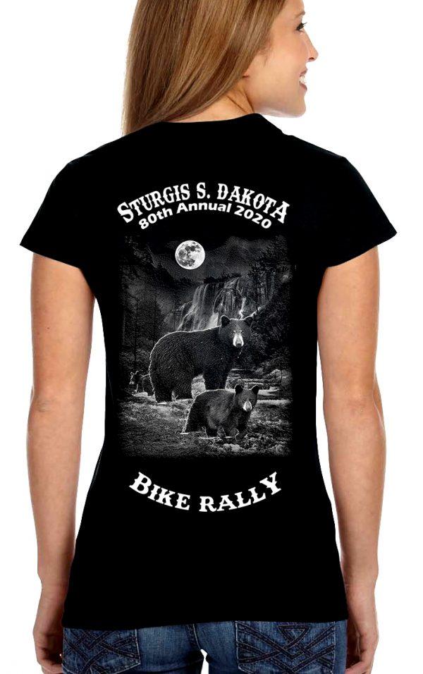 Women Sturgis Bear Cubs Tee Shirt