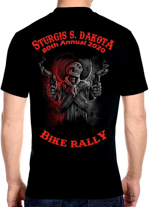 Mens Sturgis Wild West Justice T-Shirt