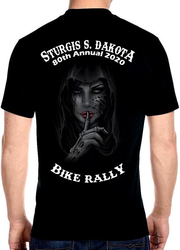 Sturgis Whispering Goth Babe T-Shirt