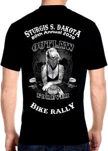 Mens Sturgis Biker Babe T-Shirt