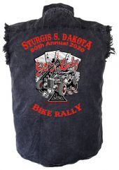 Sturgis Get Lucky Denim Biker Shirt
