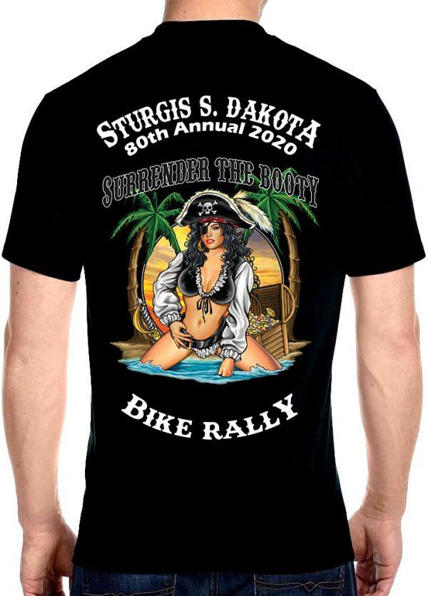 Mens Sturgis Bike Rally 2020 Crew Neck T-Shirt