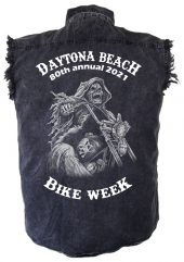 Daytona Beach 2021 Bike Week Final Ride Men's Biker Shirt