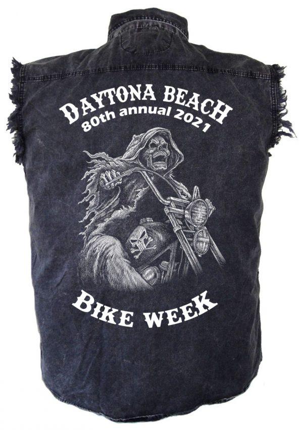 Daytona Beach 2021 Bike Week Final Ride Men's Biker Shirt