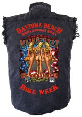Men's Daytona Beach Bike Week 2021 Route 66 Biker Shirt