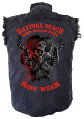 Daytona Beach Bike Week 2021 Ghost Rider Biker Shirt