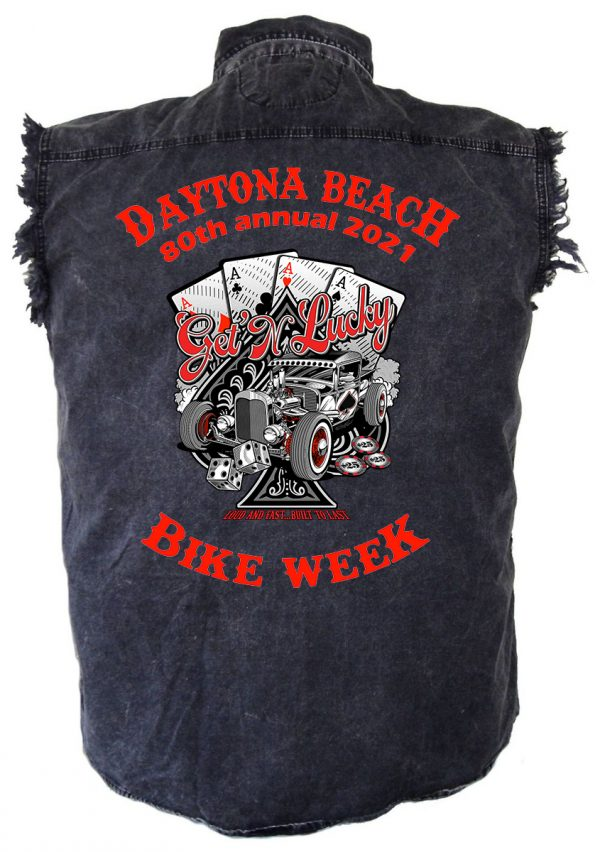 Daytona Beach Bike Week 2021 Hand of Aces Men's Shirt