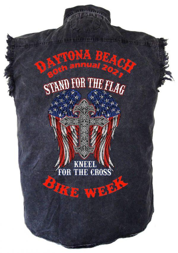Men's Daytona Beach Bike Week 2021 Cool Biker Shirt