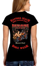 Daytona Bike Week 2021 Babes and Bikes Ladies T-Shirt