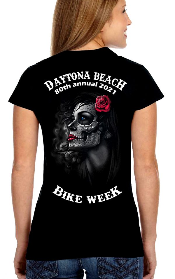 Women's Daytona beach bike week 2021 tee shirt
