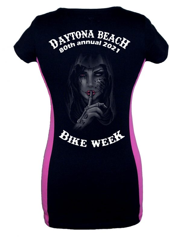 Daytona Bike Week 2021 Dead Girl Whispering Ladies T-Shirt