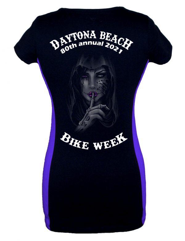 Daytona Bike Week 2021 Dead Girl Whispering Ladies Tee Shirt