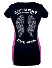 Ladies Daytona Bike Week 2021 Fallen Angel Tee Shirt