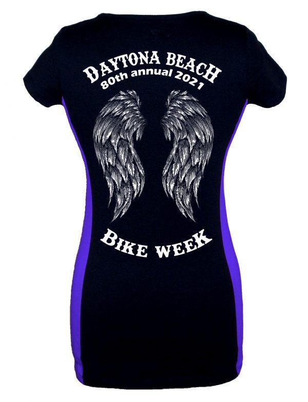 Daytona Bike Week 2021 Fallen Angel Ladies Tee Shirt