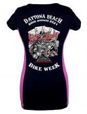 Daytona Bike Week 2021 Loud And Fast Ladies Tee Shirt