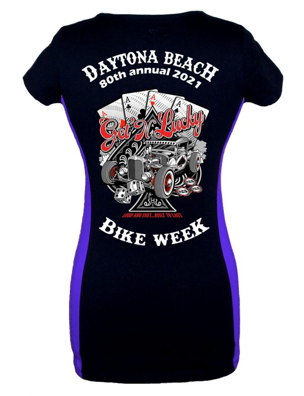 Daytona Bike Week 2021 Loud And Fast Women's T-Shirt