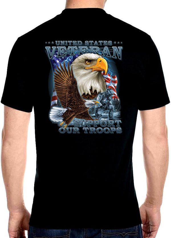 Men's Support Our Troops t-shirt