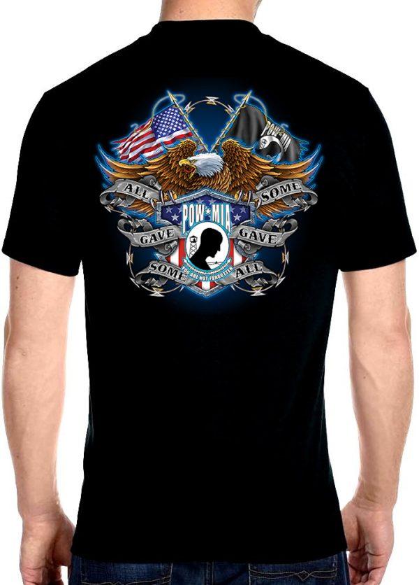 Men's POW MIA military t-shirt