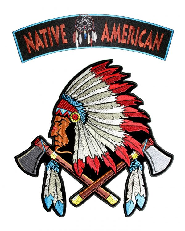 indian chief and rocker set