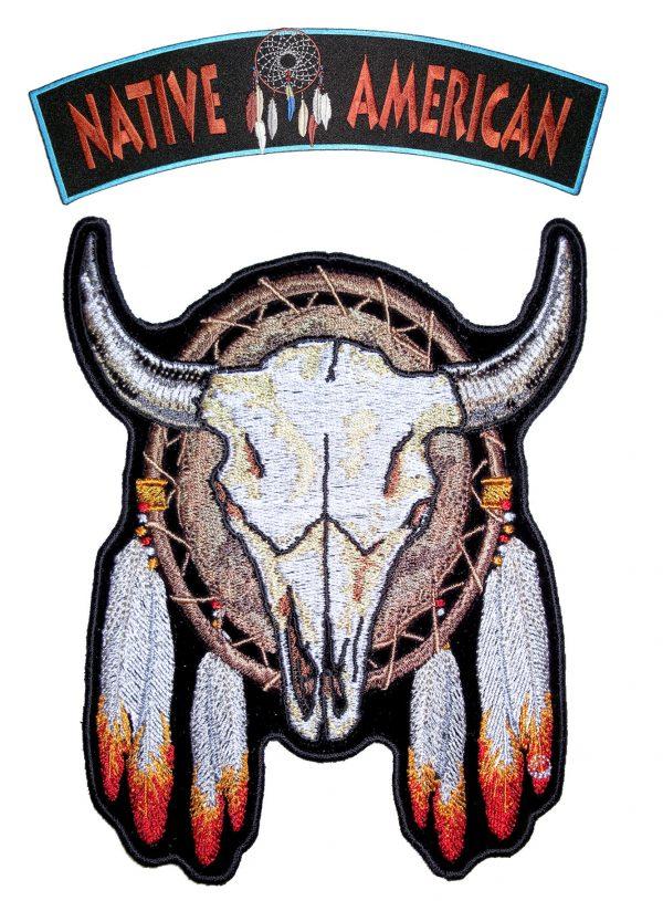 native American steer set