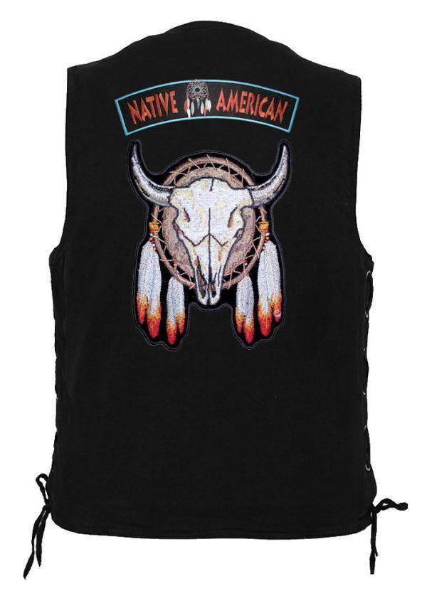indian native american steer set